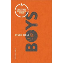 CSB Study Bible for Boys by Larry Richards, 9780801073267