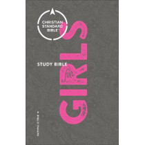 CSB Study Bible for Girls by Larry Richards, 9780801073885