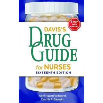 Davis's Drug Guide for Nurses by April Hazard Vallerand, 9780803669451