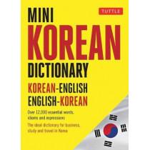 Mini Korean Dictionary: Korean-English English-Korean by Tuttle Publishing, 9780804850018