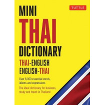 Mini Thai Dictionary: Thai-English English-Thai by Tuttle, 9780804850025