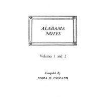 Alabama Notes by Flora D England, 9780806307503