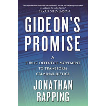Gideon's Promise: A Public Defender Movement to Transform Criminal Justice by Jonathan Rapping, 9780807064627