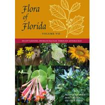 Flora of Florida, Volume VII: Dicotyledons, Orobanchaceae through Asteraceae by Richard P. Wunderlin, 9780813066264