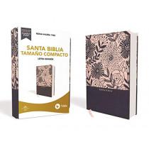 Rvr60 Santa Biblia, Letra Grande, Tamano Compacto, Tapa Dura/Tela, Azul Floral, Edicion Letra Roja by Rvr 1960- Reina Valera 1960, 9780829770285