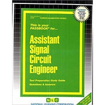 Assistant Signal Circuit Engineer: Passbooks Study Guide by National Learning Corporation, 9780837300474