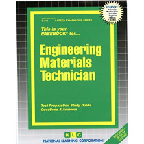Engineering Materials Technician: Passbooks Study Guide by National Learning Corporation, 9780837303154