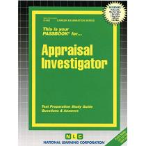 Appraisal Investigator: Passbooks Study Guide by Jack Rudman, 9780837304526