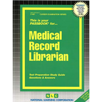 Medical Record Librarian: Passbooks Study Guide by Jack Rudman, 9780837304915