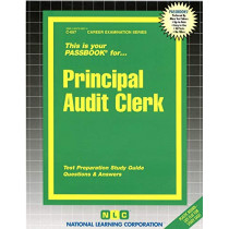 Principal Audit Clerk: Passbooks Study Guide by National Learning Corporation, 9780837306575