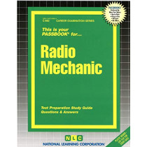 Radio Mechanic: Passbooks Study Guide by National Learning Corporation, 9780837306605