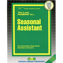 Seasonal Assistant: Passbooks Study Guide by National Learning Corporation, 9780837307046