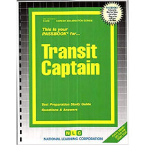 Transit Captain: Passbooks Study Guide by National Learning Corporation, 9780837308197