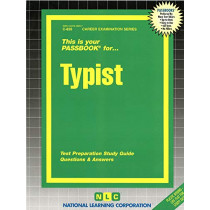 Typist: Passbooks Study Guide by Jack Rudman, 9780837308265