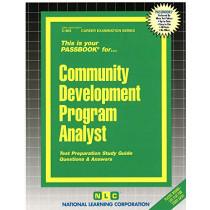 Community Development Program Analyst: Passbooks Study Guide by National Learning Corporation, 9780837309033
