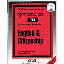 English & Citizenship: Passbooks Study Guide by National Learning Corporation, 9780837380179