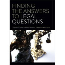 Finding the Answers to Legal Questions by Virginia M. Tucker, 9780838915691