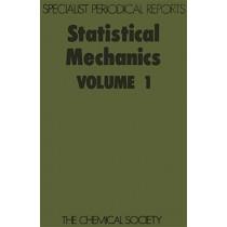 Statistical Mechanics Vol 1, 9780851867502