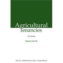 Agricultural Tenancies by Nigel Davis, 9780854902354