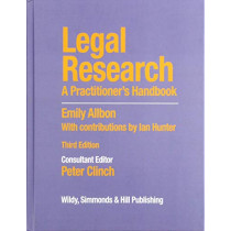Legal Research: A Practitioner's Handbook by Peter Clinch, 9780854902651
