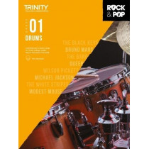 Trinity College London Rock & Pop 2018 Drums Grade 1 CD Only, 9780857366399
