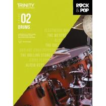 Trinity College London Rock & Pop 2018 Drums Grade 2, 9780857366405