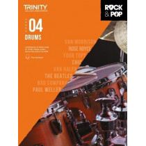 Trinity College London Rock & Pop 2018 Drums Grade 4 CD Only, 9780857366429