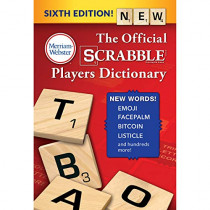 The Official Scrabble Players Dictionary by Merriam-Webster, 9780877796770