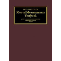 The Twentieth Mental Measurements Yearbook by Buros Center for Testing, 9780910674669