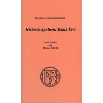 Historia Apollonii Regis Tyri by David Konstan, 9780929524405