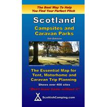 Scotland Campsites and Caravan Parks by Alex Barclay, 9780955304965