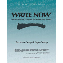 Write Now: The Getty-Dubay Program for Handwriting Success by Barbara Getty, 9780964921511