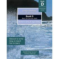 Getty-Dubay Italic Handwriting Series: Book D by Barbara Getty, 9780964921542