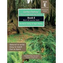Getty-Dubay Italic Handwriting Series: Book E by Barbara Getty, 9780964921597