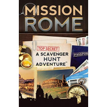 Mission Rome: A Scavenger Hunt Adventure: (Travel Book For Kids) by Catherine Aragon, 9780989226769