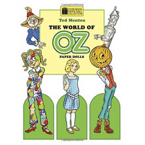 The World of Oz Paper Dolls by Ted Menten, 9780991048328