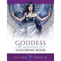 Goddess and Mythology Coloring Book by Selina Fenech, 9780994585226