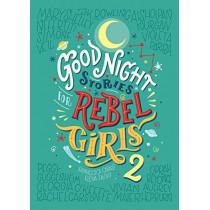 Good Night Stories For Rebel Girls 2 by Elena Favilli, 9780997895827