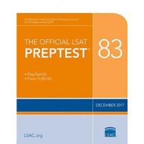 The Official LSAT Preptest 83: Dec. 2017 LSAT by Law School Admission Council, 9780998339764