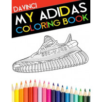 My Adidas Coloring Book by Davinci, 9780998683126