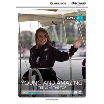 Young and Amazing: Teens at the Top High Beginning Book with Online Access by Simon Beaver, 9781107622524