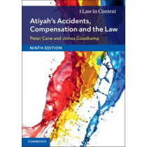 Atiyah's Accidents, Compensation and the Law by Peter Cane, 9781108431743