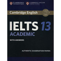 Cambridge IELTS 13 Academic Student's Book with Answers: Authentic Examination Papers, 9781108450492