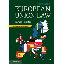 European Union Law by Robert Schutze, 9781108455206