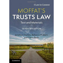Moffat's Trusts Law: Text and Materials by Jonathan Garton, 9781108796446