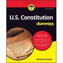 U.S. Constitution For Dummies by Michael Arnheim, 9781119387299