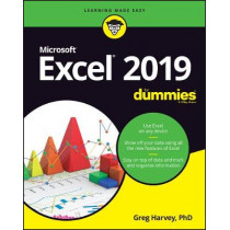 Excel 2019 For Dummies by Greg Harvey, 9781119513322