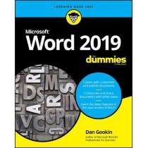 Word 2019 For Dummies by Dan Gookin, 9781119514060