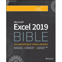 Excel 2019 Bible by Michael Alexander, 9781119514787
