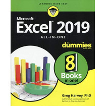Excel 2019 All-in-One For Dummies by Greg Harvey, 9781119517948